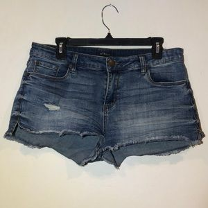 STS Jean Distressed Shorts